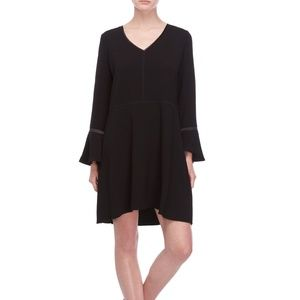 Crepe, bell-sleeved Scotch and Soda dress
